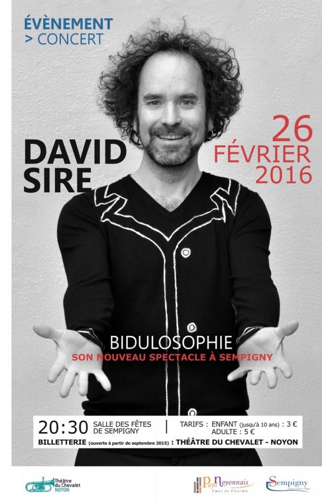 DAVID SIRE EN CONCERT @ Sempigny | Sempigny | Picardie | France